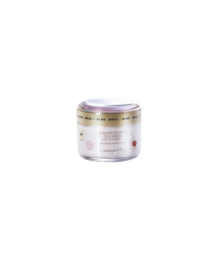 N0023, exfoliante facial, cofre cereza