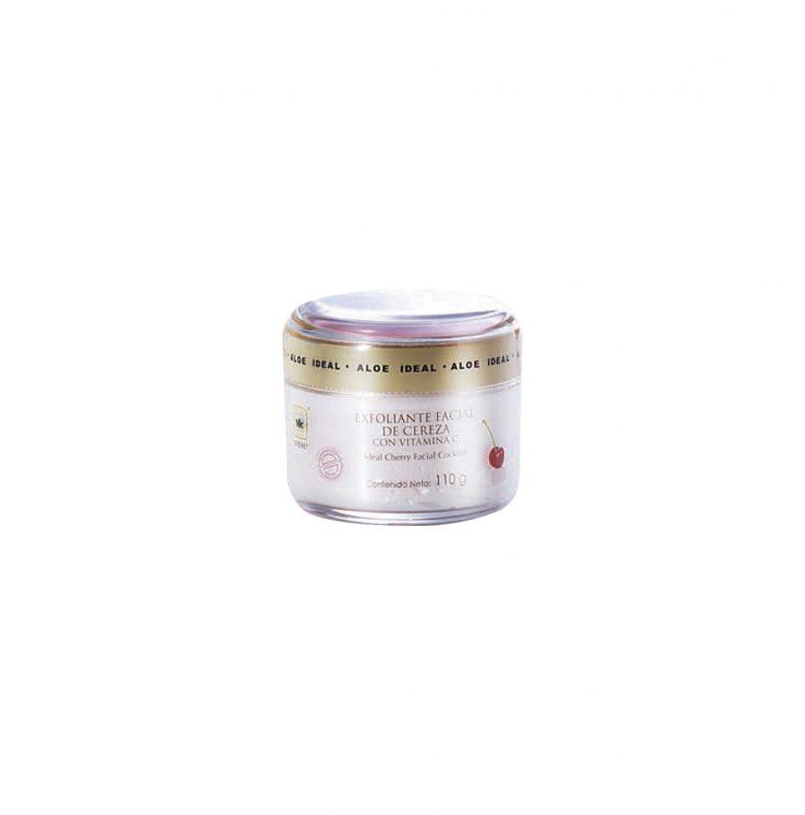 N0023, exfoliante facial, cofre cereza